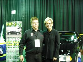 HP2g Doug Pelmear Michigan Governor Jennifer Granholm NAIAS 2009
