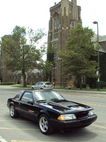 HP2g Cornell College University 110mpg Mustang NY New York  E85 100mpg fuel economy USA driving vehicle