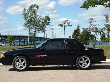 HP2g Mackinaw Bridge E85 Mustang 110mpg 100mpg Fuel economy