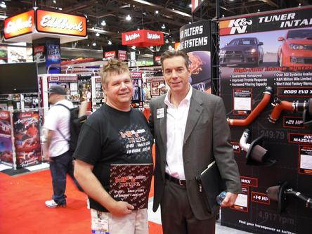 SEMA President CEO Chris Kersting HP2g Doug Pelmear