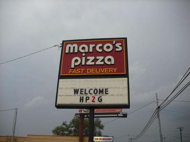 Marco's Pizza - HP2g 110mpg V8 Hybrid Engine