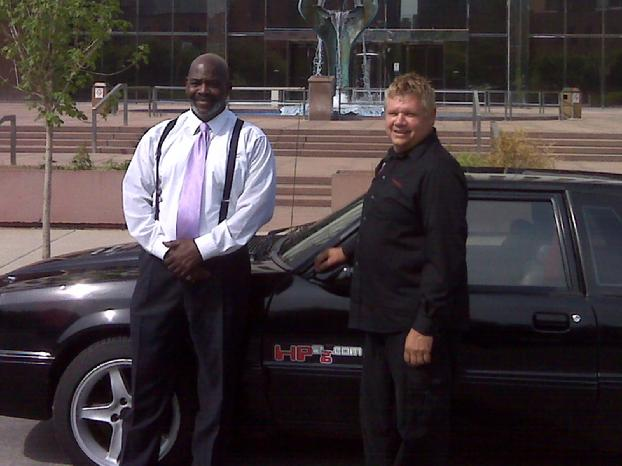 Toledo Mayor Bell Jun 3, 2011 & Doug Pelmear HP2g 110mpg 400hp V8 Hybrid Engine