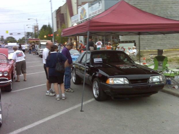 HP2g 110mpg Hybrid @ Wauseon Ohio Super Cruise
